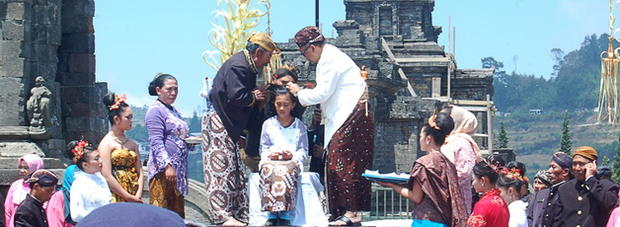 One of the Highlights in Dieng Culture Festival