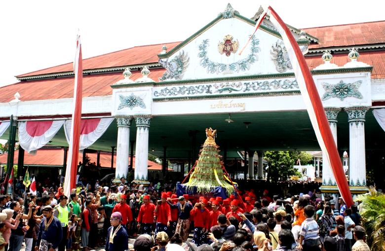 Sekaten Festival in Yogyakarta