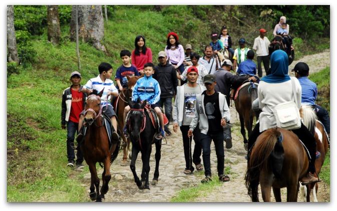 Horseback Riding at Gunung Mas