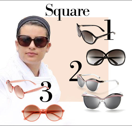 Eyeglass Frame Shapes For Square Faces : Hey! Are you wearing the right sunglasses for your face ...