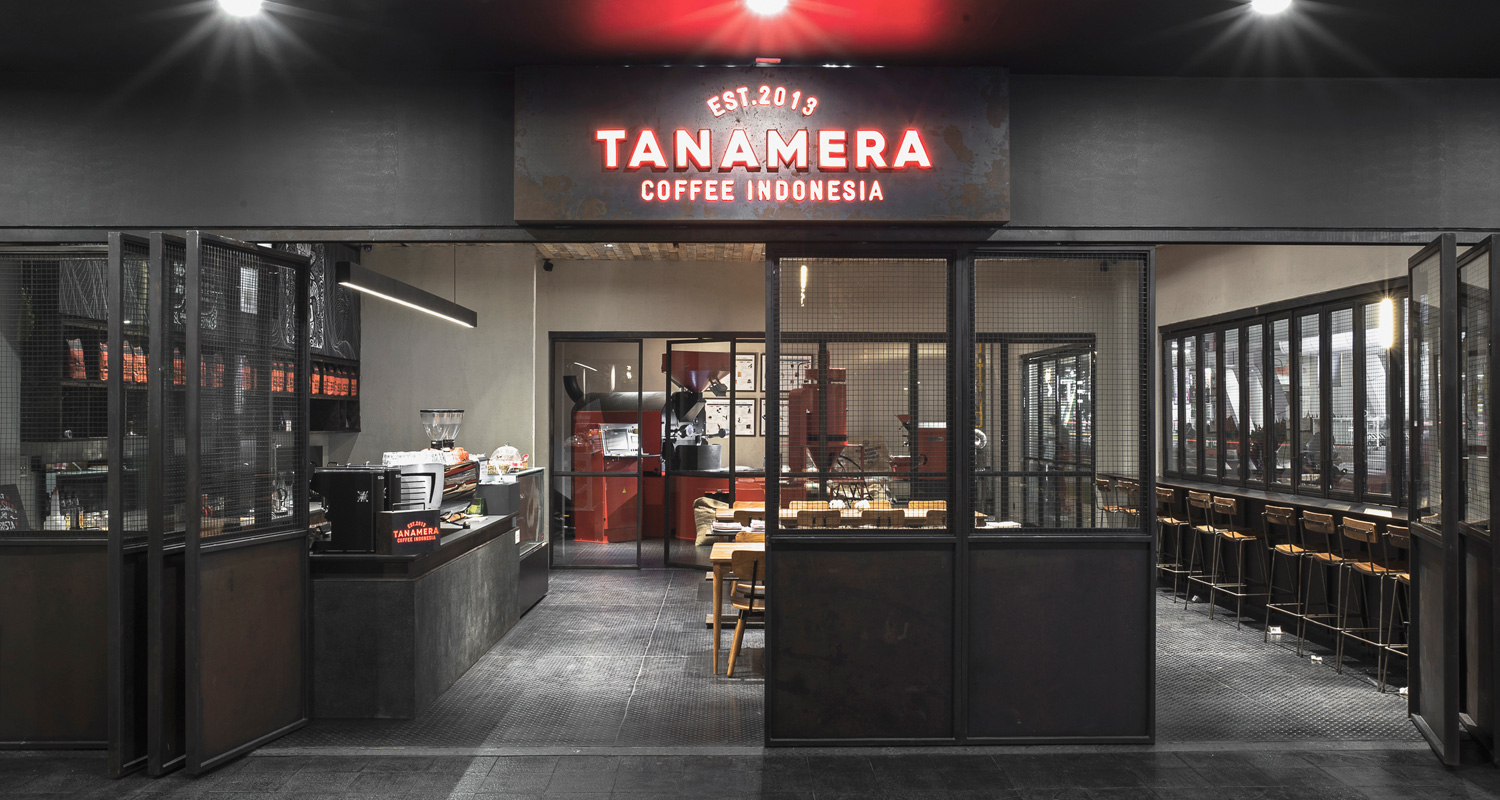 Tanamera Coffee outlet in Jakarta | Indoindians.com