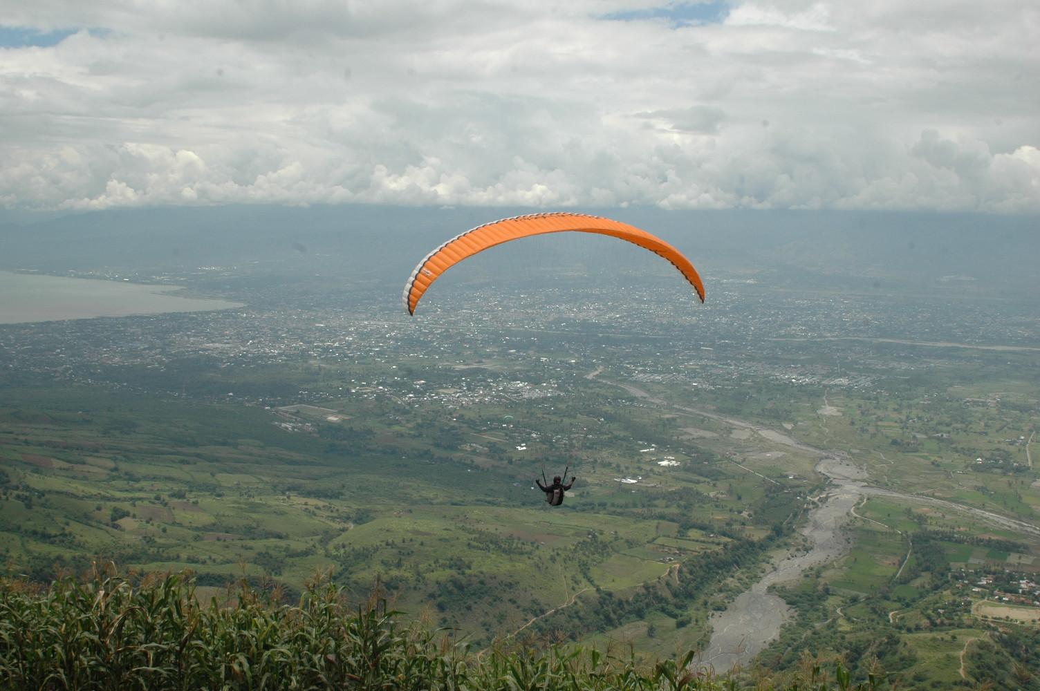 Paragliding at Matantimali