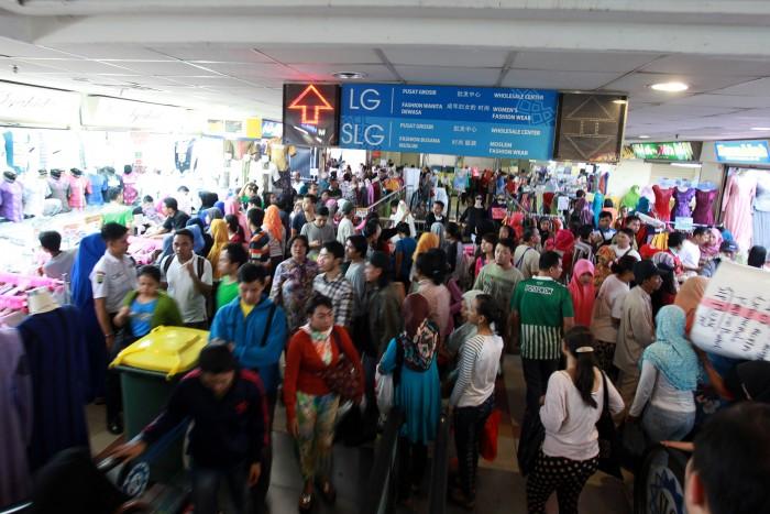 Shopping at Pasar Tanah Abang, Jakarta