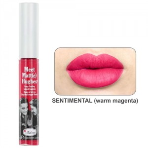The Balm Meet Matt(e) Hughes in Sentimental