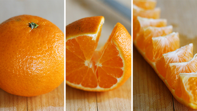 peel orange easily