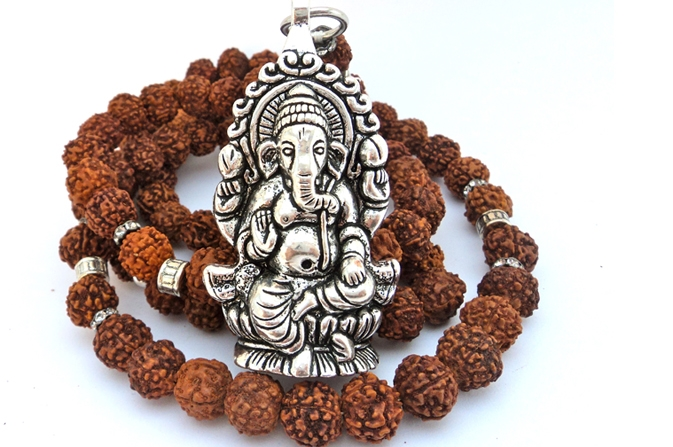 Energizing the rudraksha