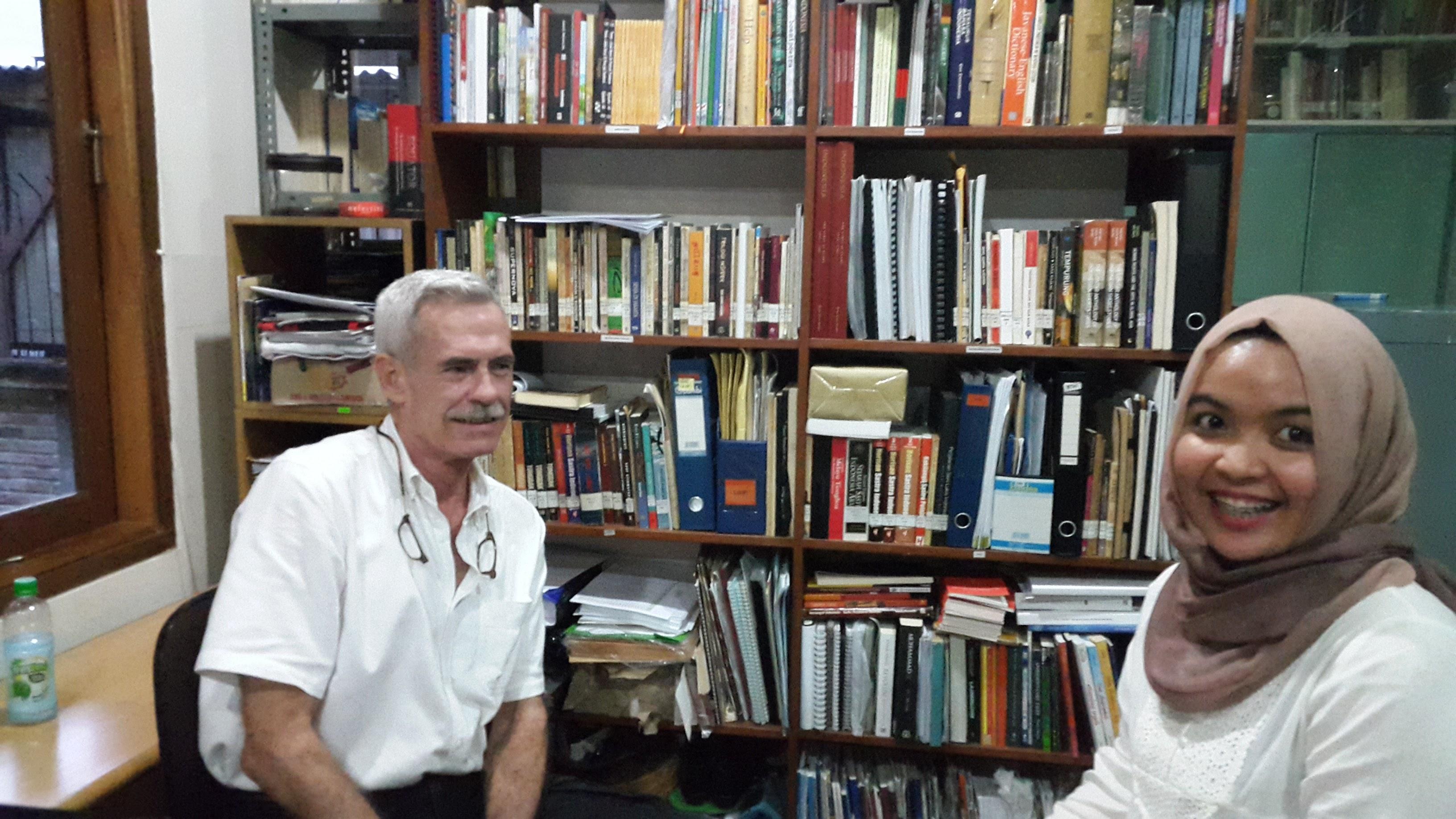 John McGlynn in Conversation with Espiralina Puspa Tania