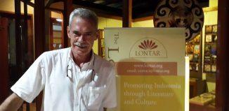 John Mcglynn at Lontar Foundation