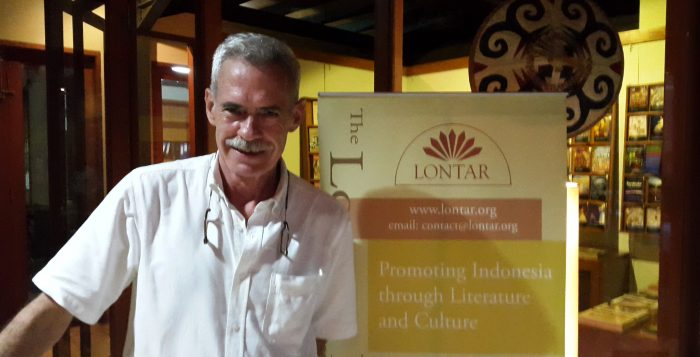 John Mcglynn at Lontar Foundation