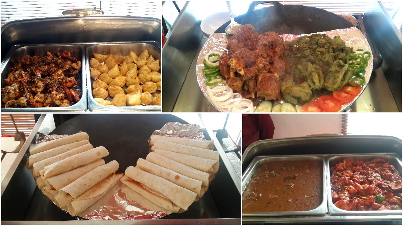 Food Testing at Zanas Restaurant Jakarta