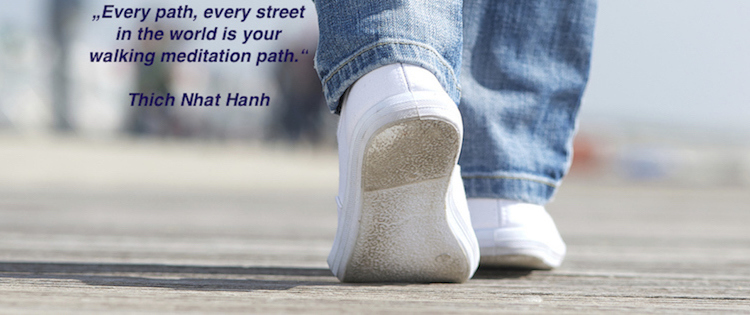 walking meditation quote