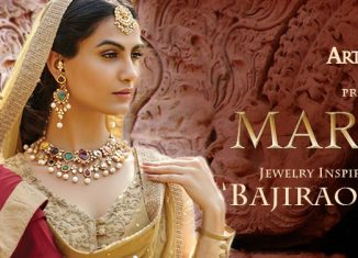 Art Karat Jewelry in movie BajiRao Mastani