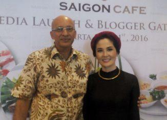 Praba Madhavan, Owner of Yeu Saigon Café