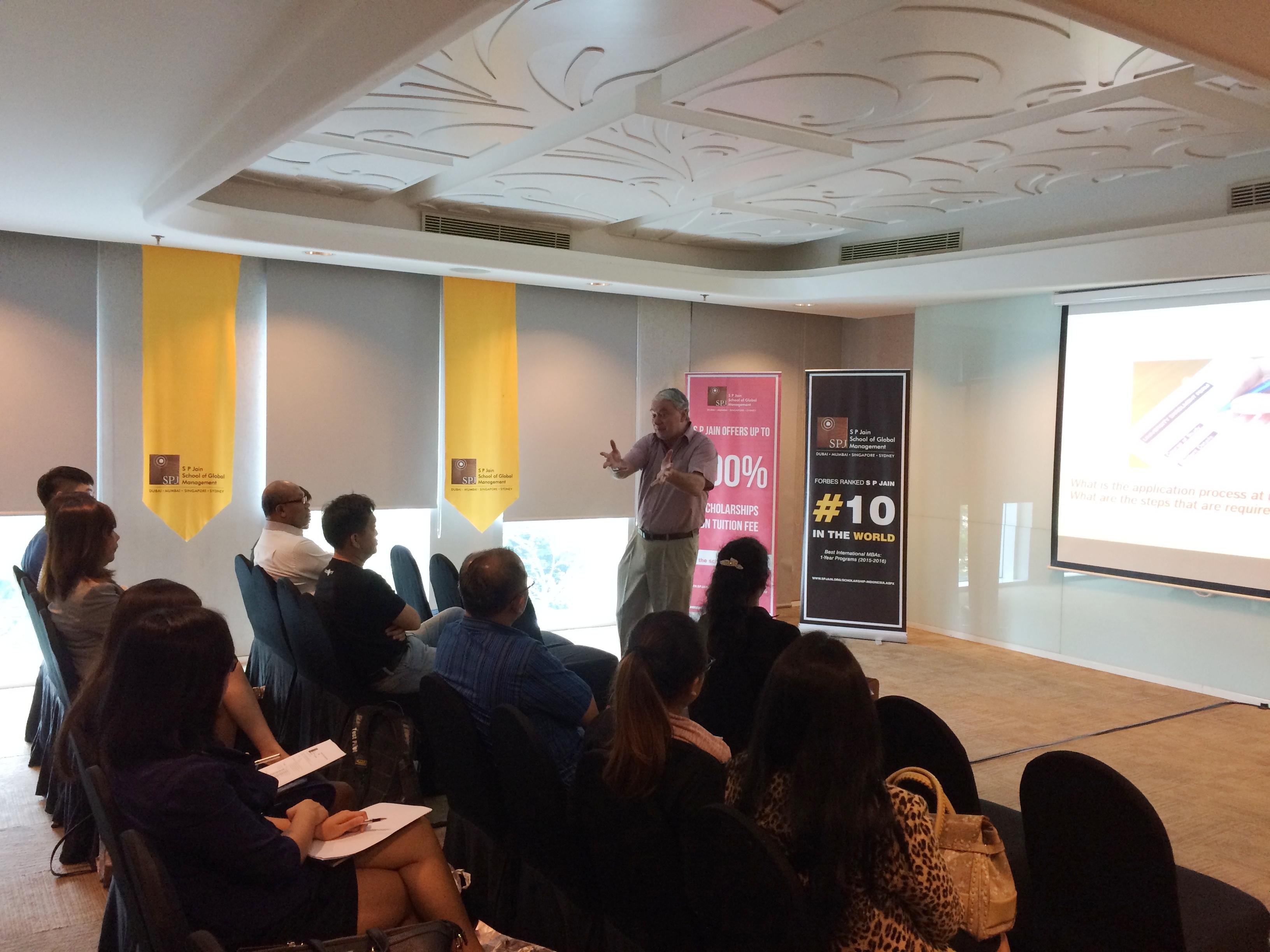SP Jain School of Global Management—High Tea with the Dean event report