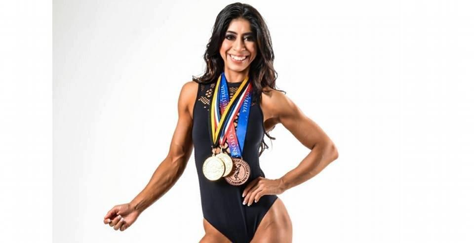 Chaya Keswani, Inspiring Bikini Fitness Athlete