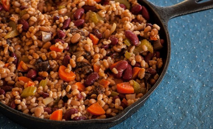 Stampede Beans and Barley Recipe