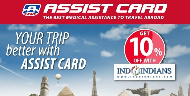 Annual Travel Insurance & Assistance Plan by Assit Card Valid Worldwide