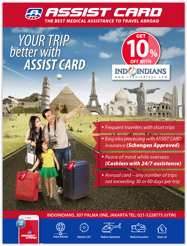 Annual Travel Insurance & Assistance Plan by Assist Card Valid Worldwide