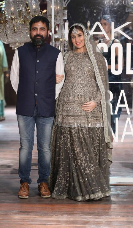 mom-to-be Kareena Kapoor Khan looking resplendent as Sabyasachi Mukherjee's showstopper in Mumbai