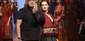 Lakme Fashion Week: Kangana Ranaut looks breathtaking for Tarun Tahiliani's earthy collection