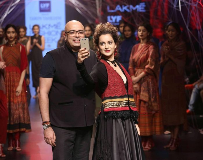 Lakme Fashion Week: Kangana Ranaut looks breathtaking for Tarun Tahiliani's earthy collection