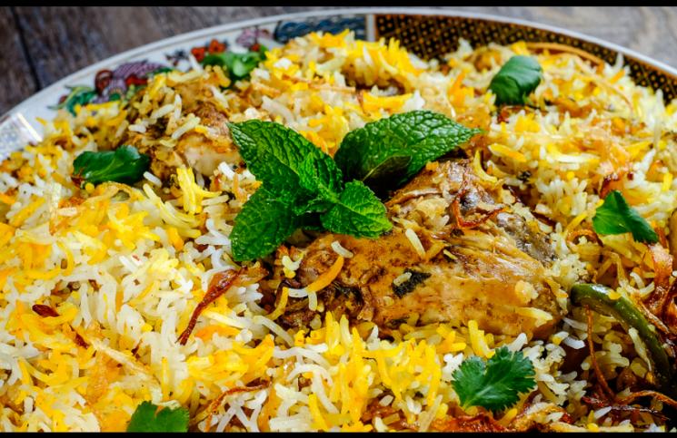 Hyderabadi Chicken Biryani by Shabana Akbany