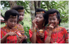 Indonesian Tribal Girls