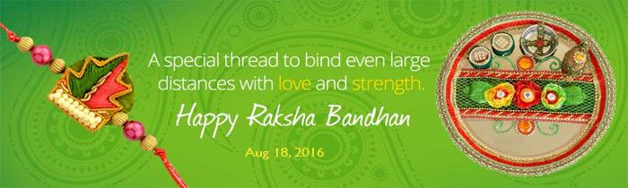 Raksha Bandhan Indoindians Giftshop Banner 2016