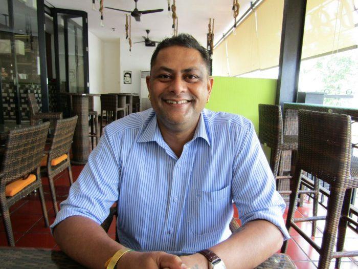 Firdos Dupattawala, the Owner of D'Bollywood Restaurant Jakarta