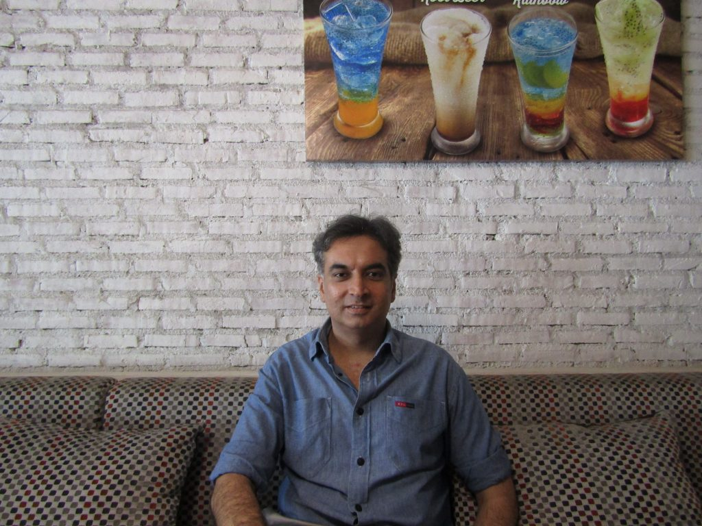 Sanjay Kishinchand, Founder and Director of VMAD Restaurant