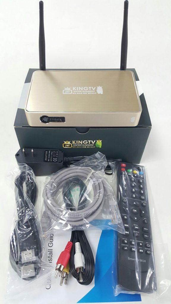 KING IPTV set top box