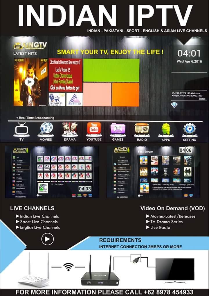 King IPTV Brochure
