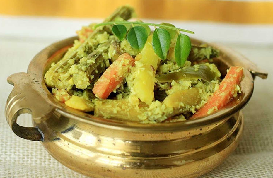 Southern Indian Mixed Vegetable Curry (Avial)