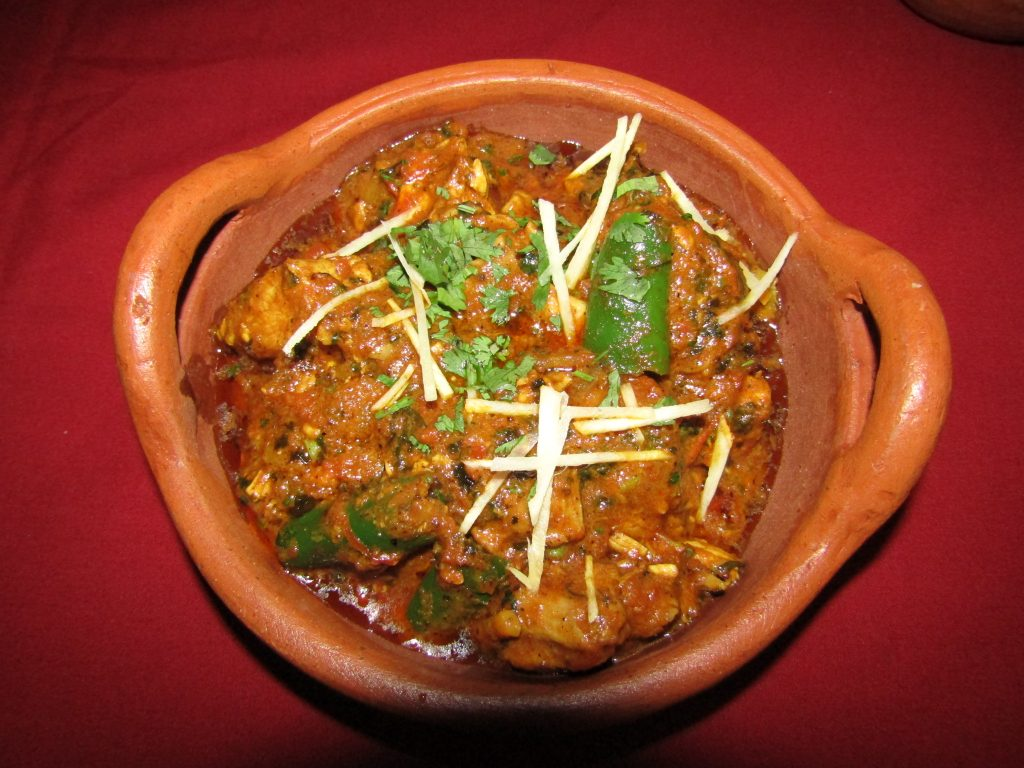 Chicken Kadahi Lahori