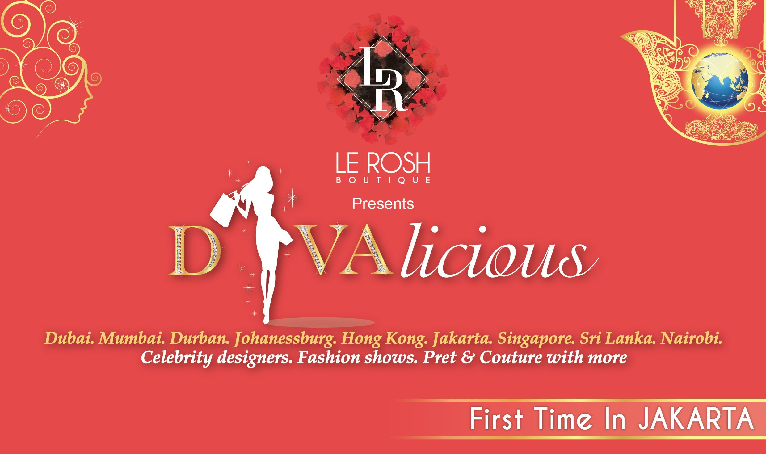 DIVAlicious Pop-Up Fashion & Lifestyle Exhibition for the very 1st time in Jakarta