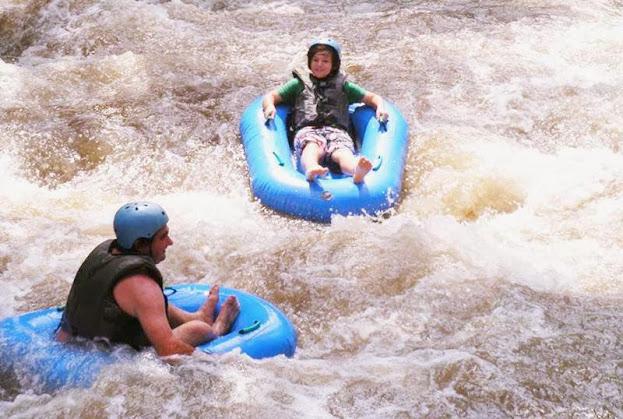 water-tubing