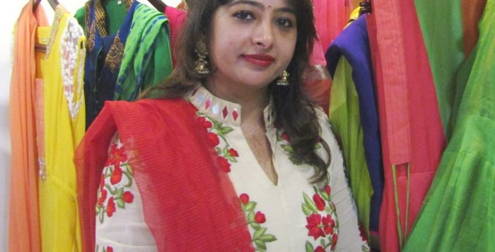 Rekha Kishore Sadarangani, the Owner of Rewaaz Couture