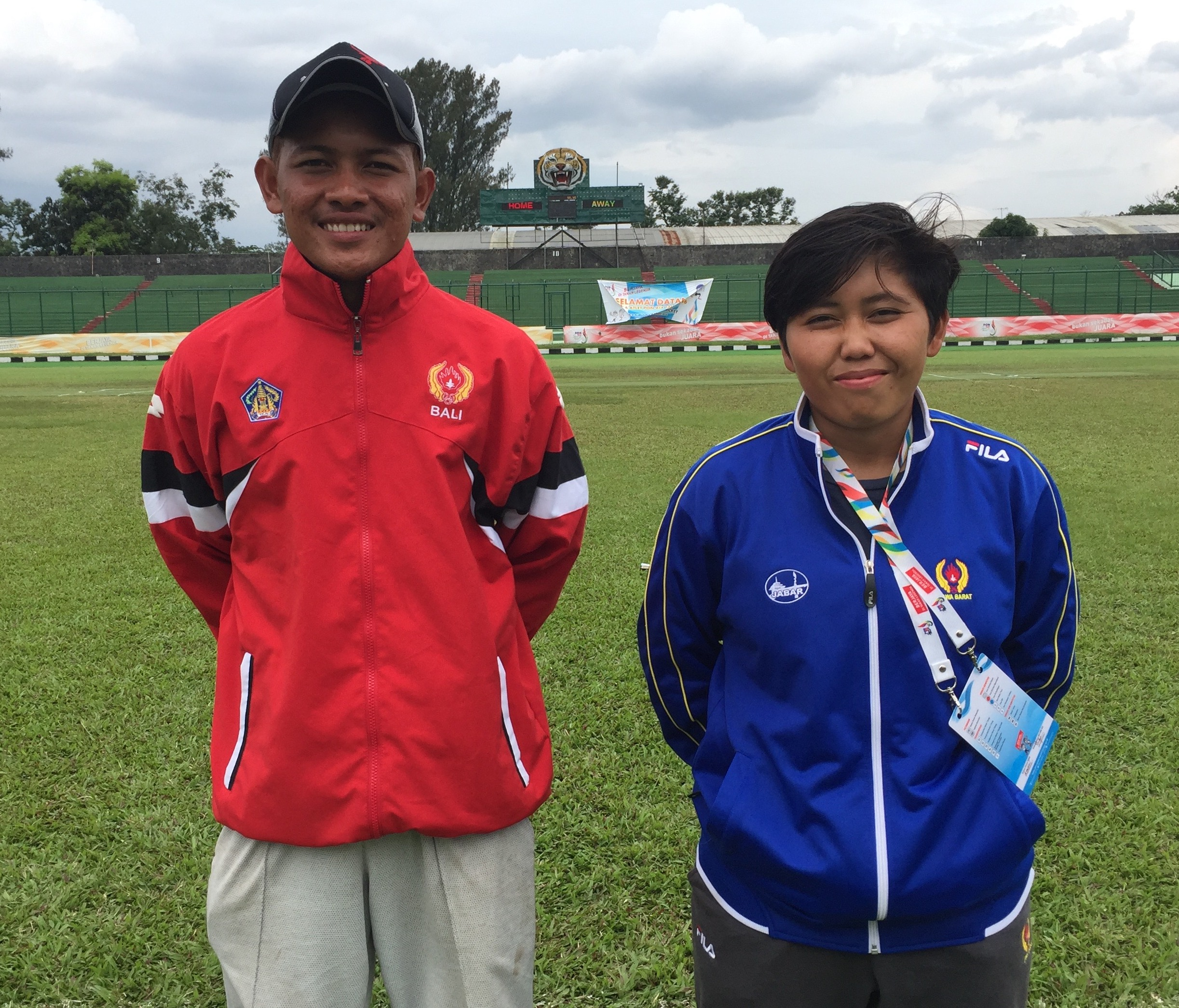 Gamantika & Andriani the stars in Cricket's historic debut at the PON Games