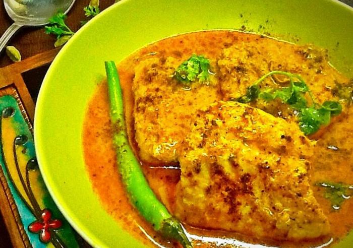 Machli Ka Salan or Fish Curry by Shabana Akbany