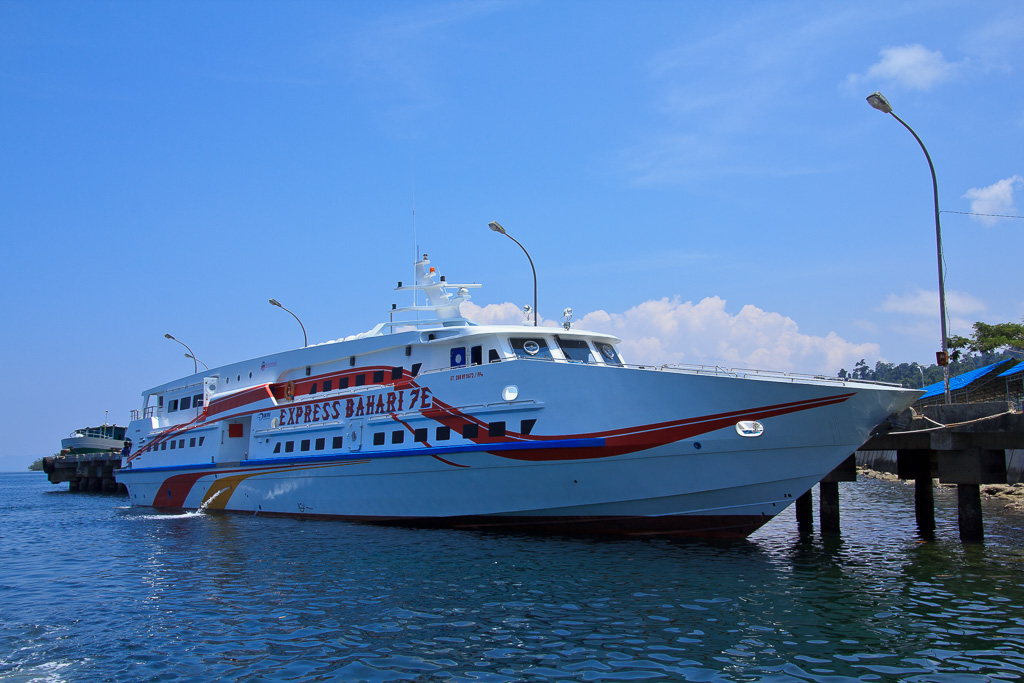 Ship to Raja Ampat