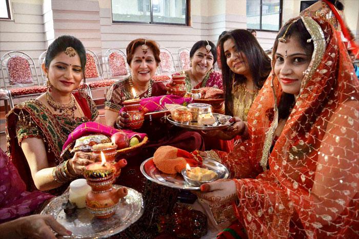 Celebrating Karwa Chaut