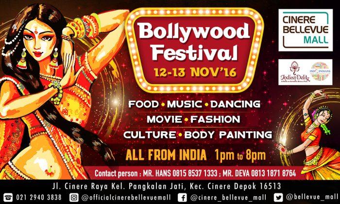 Bollywood Festival @Cinere Bellevue Mall 12-13 Nov