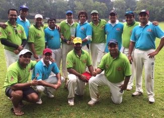 Singapore Recreation Club & WPP India XI joint winners of Jakarta 6s