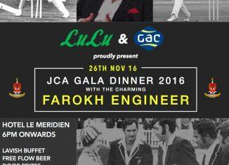 JCA Gala Dinner 2016