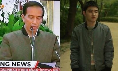 Jokowi's Bomber Jacket Goes Viral