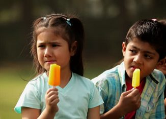 Does Ice Cream Really Cause Flu and Cough on Children?