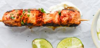Chili-Garlic Chicken Skewers