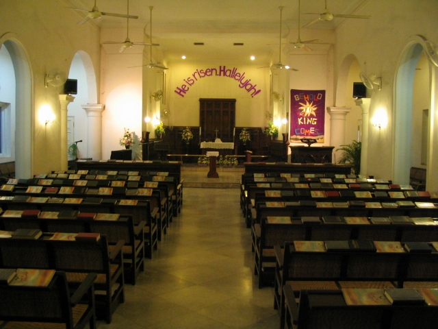 Christian Church Services for English-speaking Communities in Jakarta