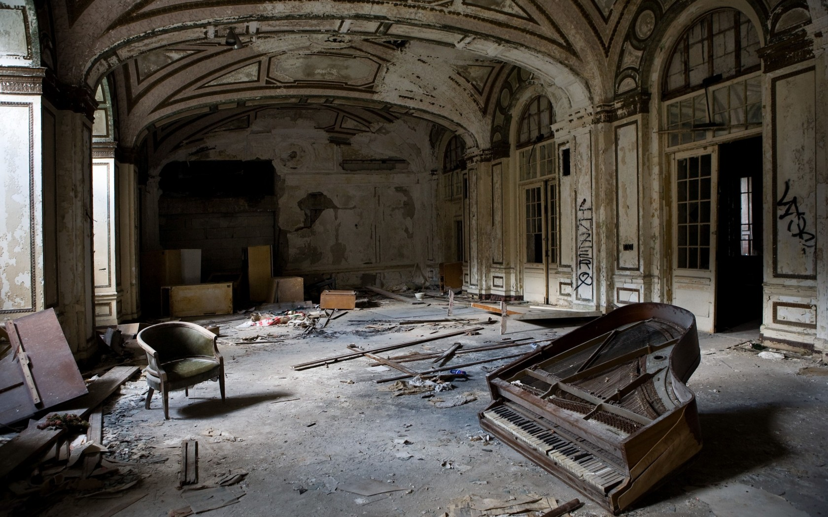 Visiting abandoned place sounds fun, eh?