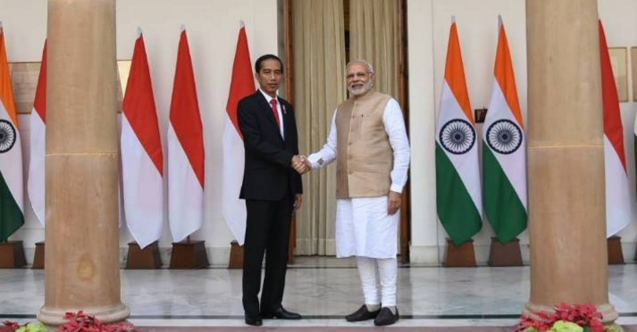 Indonesia President Joko Widodo Visits India